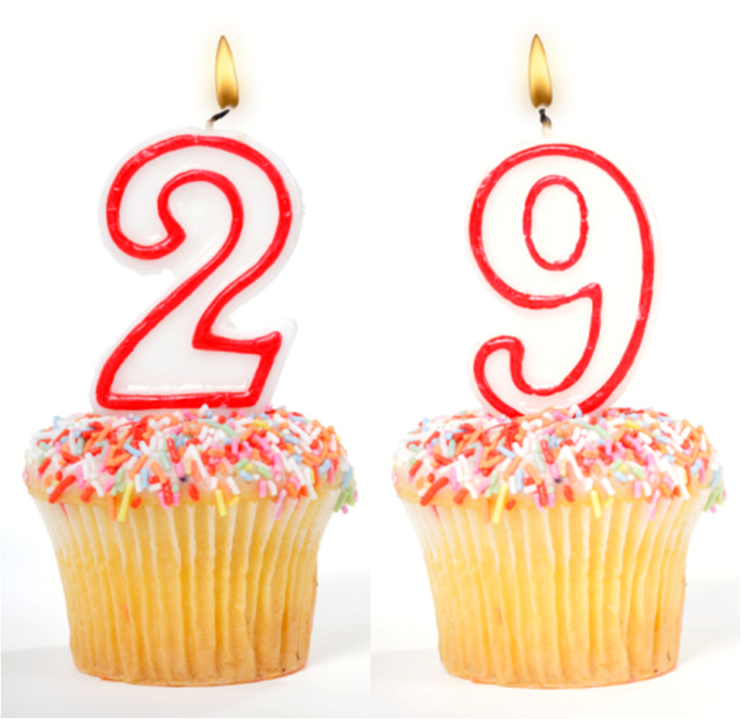Днем рождения поздравления 29 лет